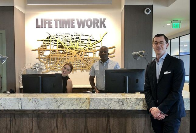 PHOTOS: Life Time Work Opens Health-Focused Coworking Space In Houston