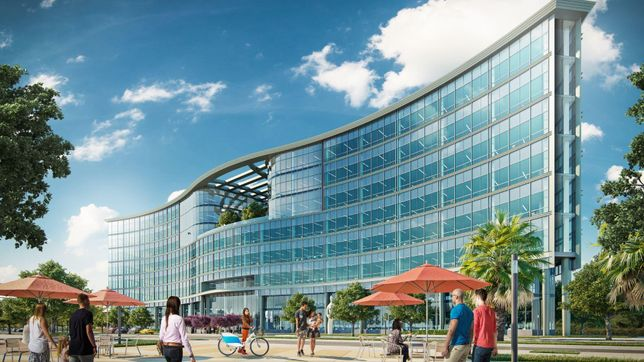 Rendering of Woodstock Development's Union1.2