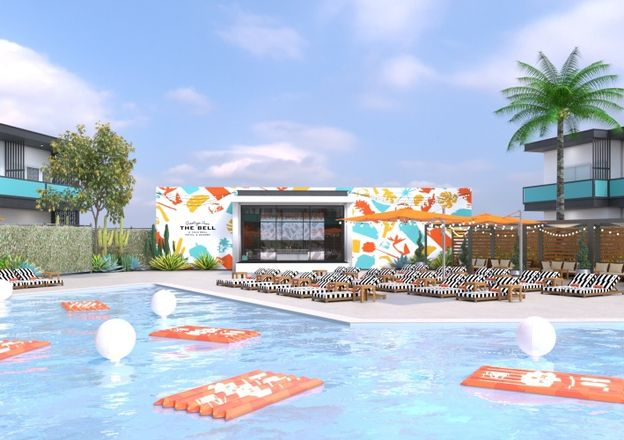 The Bell: A Taco Bell Hotel & Resort - Pool View