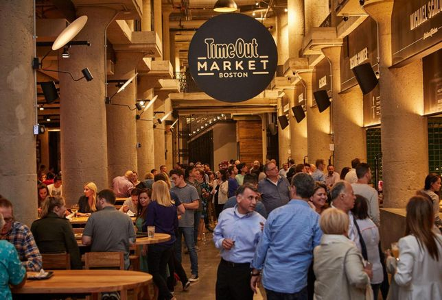 Time Out Market Boston Opens In The Fenway