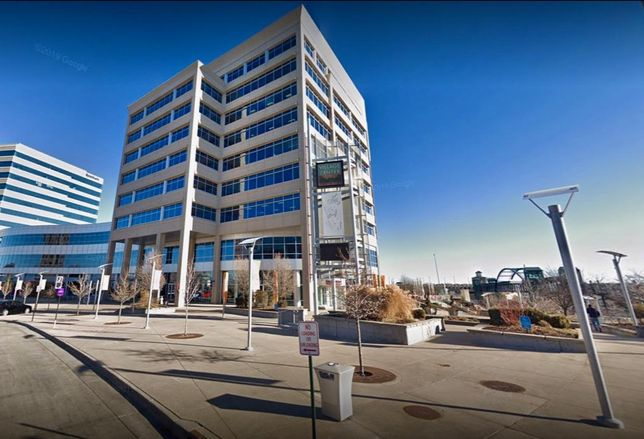 Village Center Station, a nine-story 235K SF office building at 6380 S. Fiddler Green Circle in Greenwood Village, Co.