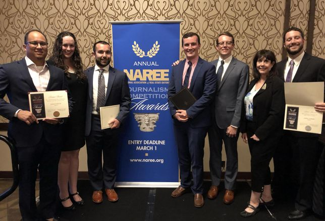Bisnow Wins 5 Journalism Awards At NAREE