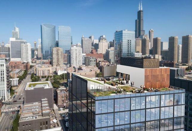 Fulton East Rooftop Rendering