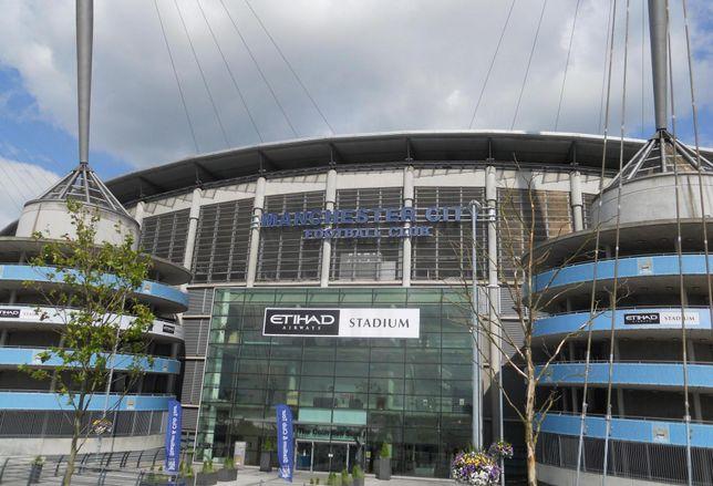 Manchester Etihad Stadium, in the Eastlands regeneration area