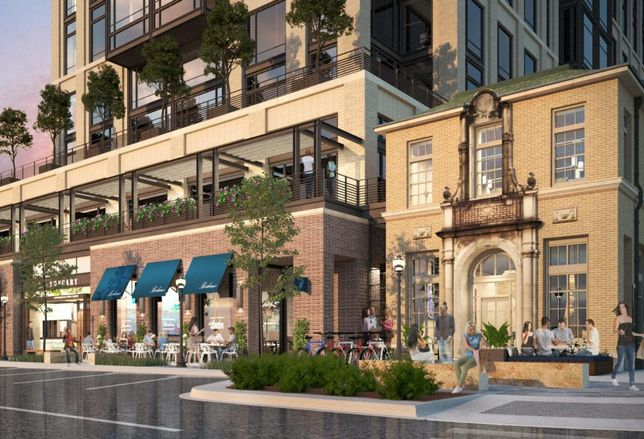 Here Comes Weir's Plaza: A Mixed-Use Development Anchored By A Furniture Store