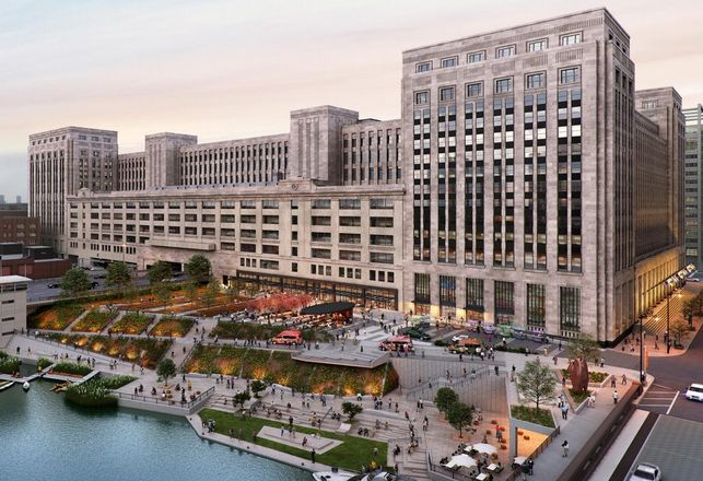 The Old Main Post Office: A Historic Landmark Gets A High-Tech Facelift