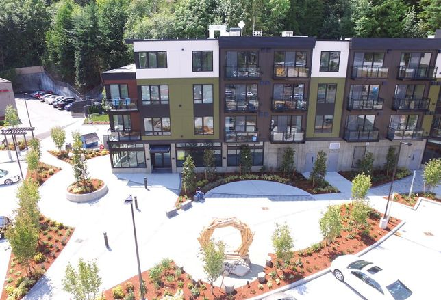 Apartment Building Opens In Edmonds Upzone