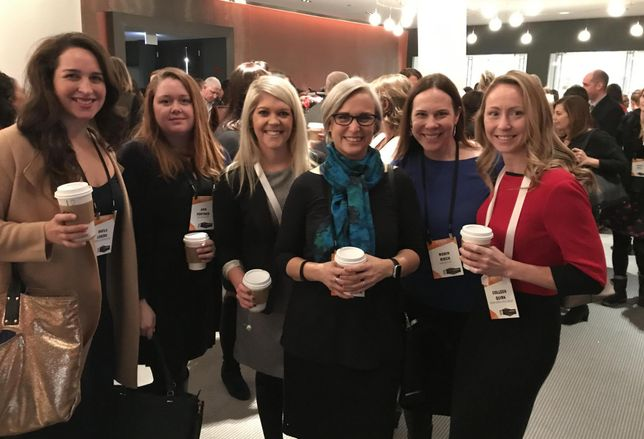 Goldie Initiative Scholars at Bisnow Chicago Power Women Event