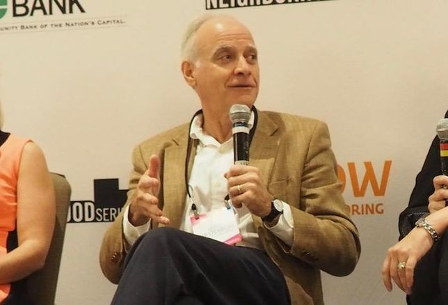 Stonebridge Principal Doug Firstenberg at a 2018 Bisnow event