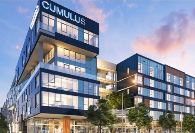 Rendering of Carmel Partners' Cumulus District development in the West Adams neighborhood of Los Angeles