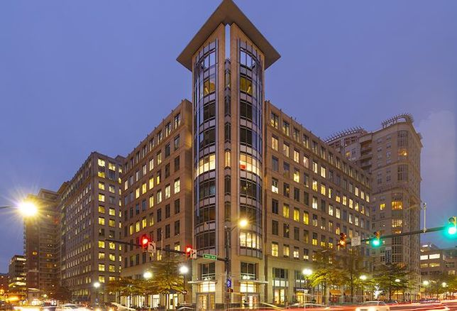 The Two Liberty Center building in Ballston