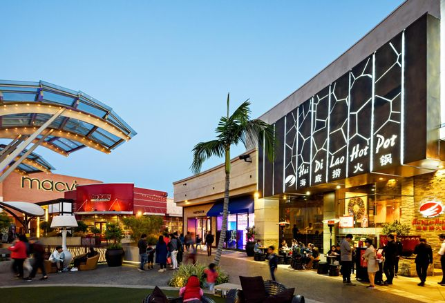 Westfield Santa Anita mall in Arcadia