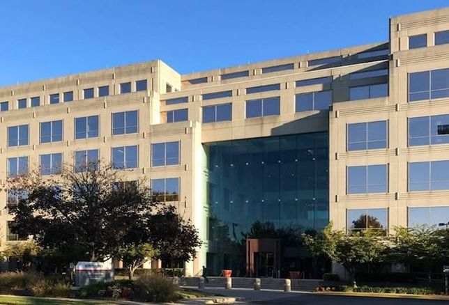 The MetroPark North office property in Rockville