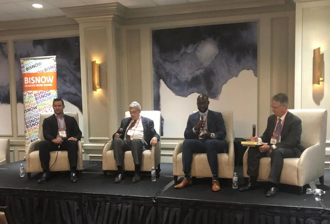 Douglas Elliman Texas CEO Jacob Sudhoff, Pelican Builders Founder Robert Bland, DC Partners COO Acho Azuike, Riverway Title CEO John Hammond