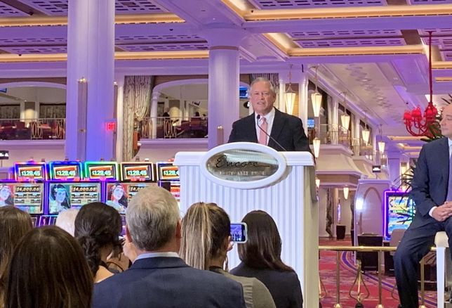 President Of $2.6B Encore Boston Harbor Steps Down