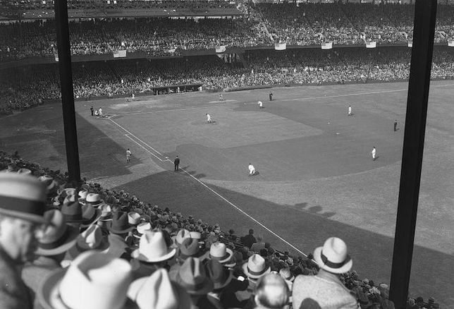 The Washington Senators' Griffith Stadium during the 1933 World Series