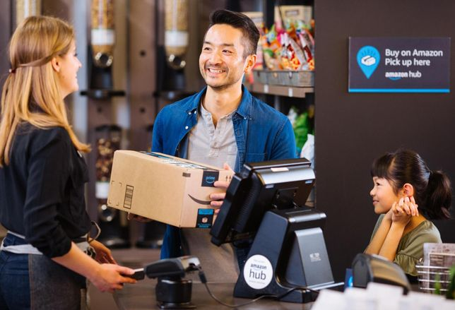 Amazon To Roll Out Thousands More Pickup Counters With New Store Partnerships