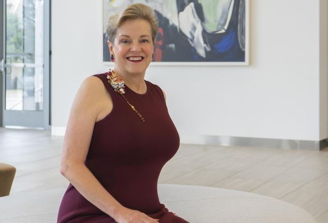 Power Women: Transwestern's Nora Hogan Bleeds TCU Purple, Loves Brooches And Believes In Dressing For Success