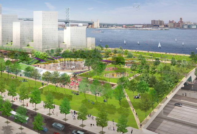 Delaware River Waterfront Corp. Seeks Developers For Parcels Surrounding Penn's Landing