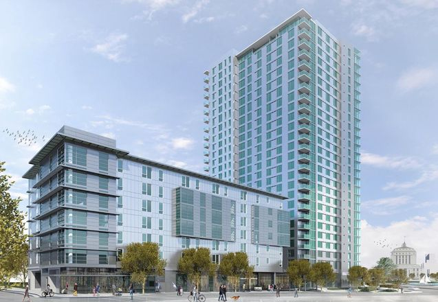 Delayed By Construction Costs, Lake Merritt Tower Targeted For July 2020 Groundbreaking