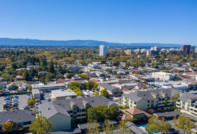 Silicon Valley and downtown San Jose