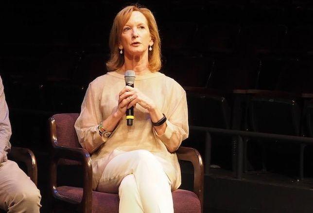 Brookfield's Deborah Ratner Salzberg at a 2017 Bisnow event