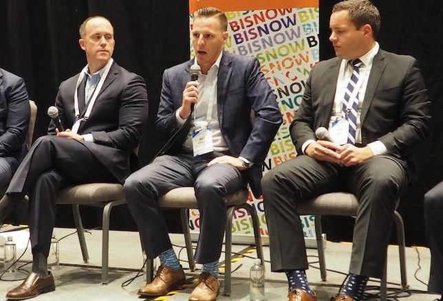 Harbor Group International's Matt Jones, TrueAmerica Multifamily's Matt Ferrari and Aion Partners' Sean Belfi