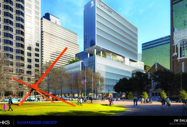 Sam Moon Group Is Back With Another Luxury Hotel: A JW Marriott In Downtown Dallas