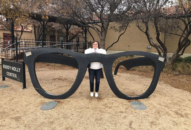 Gensler's Houston Co-Managing Director Stephanie Burritt at Lubbock's Buddy Holly Center