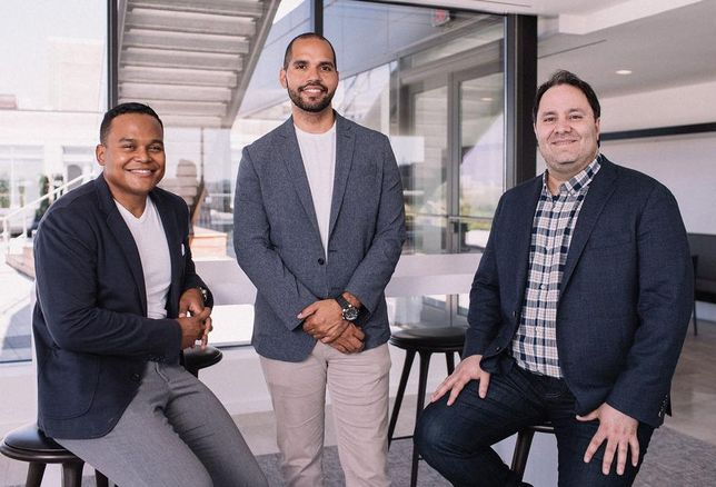 BYNDfit co-founders Carl Pierre, Ryan Macaulay and Raymond Rahbar