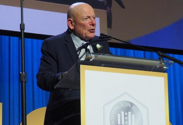 Douglas Development founder and President Douglas Jemal at the 2019 Washington Business Hall of Fame dinner