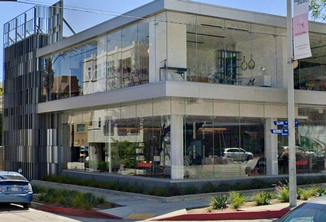 Retail building at 8840 Beverly Blvd. West Hollywood