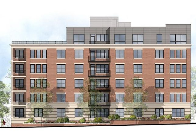 A rendering of the condo project planned at 2551 Main Line Blvd. in Alexandria