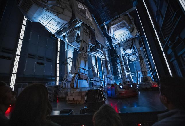 Disneyland Star Wars Land Galaxy's Edge Rise Of The Resistance