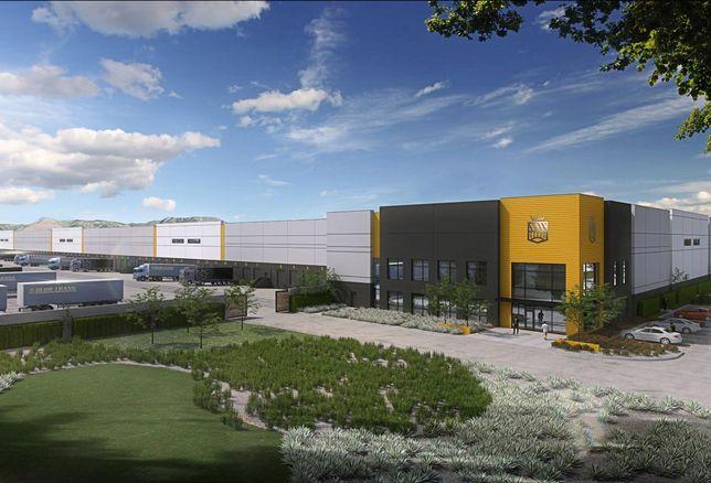 Rendering of Birtcher Development's Airport Commerce Center in San Bernardino