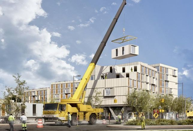 Rising Construction Costs Making Modular A Less Risky Bet