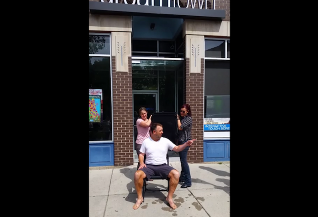 This Week's Ice Bucket Challenges
