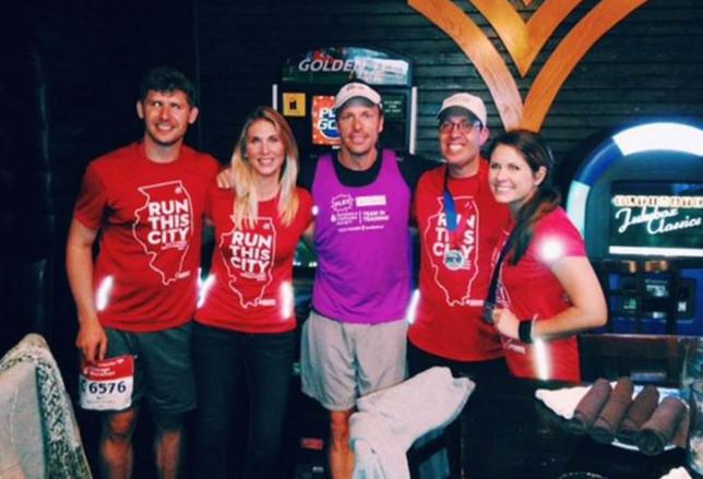 Cushman & Wakefield Does the Marathon