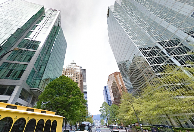 The Most Expensive Street for Office Space