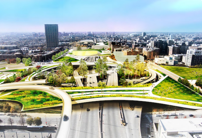 UIC Wants Obama Library Campus to Cap the Eisenhower