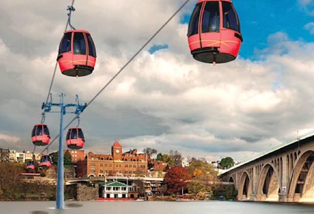 BID President Anticipates Georgetown Aerial Gondola Study in 2015