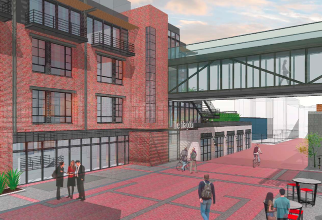 Parking-Free Micro-Units Approved in Shaw's Blagden Alley
