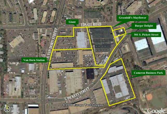 Greenhill Cos Looks to Lease 22-Acre Alexandria Redevelopment Site