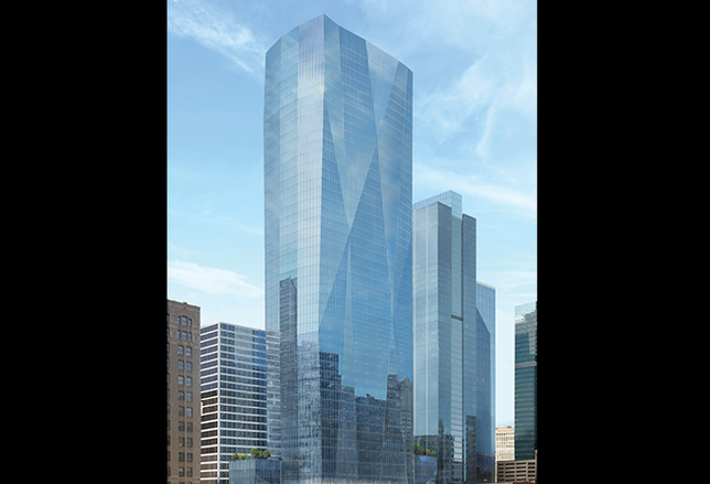 Tishman Speyer Presents Plans For Loop Tower
