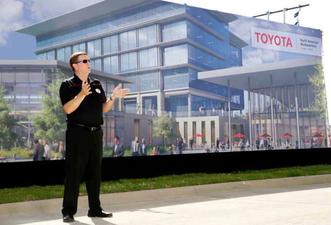 Sneak Peek at Toyota's HQ Designs