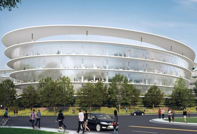Apple Plans Second Massive Spaceship Campus