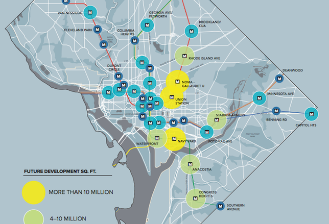 DC Has 159M SF of Development in the Pipeline