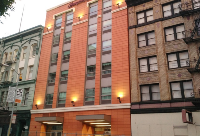 189-Room Hotel Headed for S.F. Financial District