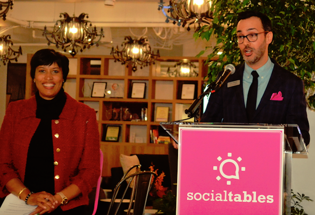 Social Tables Takes The DC Tech Lead