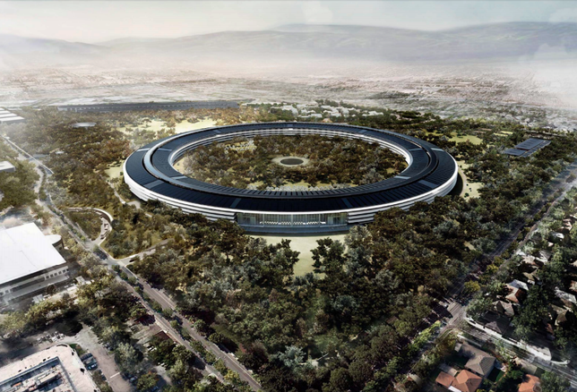 Apple Is Building 'The Best Office Building In The World.' Here's What It Looks Like Now.